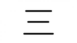漢数字「三」